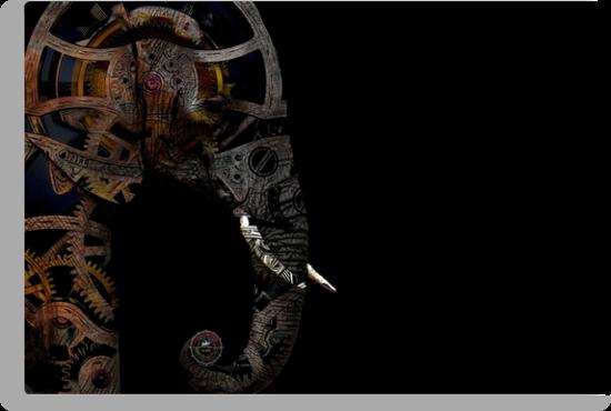 clockwork elephant by tinncity