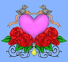 The Love Birds by Mary Ruth Anderson