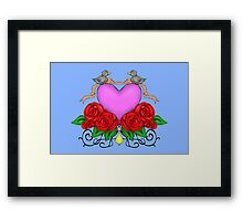 The Love Birds Framed Print