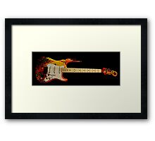 dirty music Framed Print
