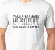 The Beatles Song Lyrics Hey Jude Inspirational Unisex T-Shirt