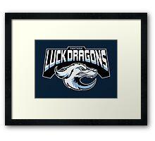 Fantasia Luck Dragons Framed Print
