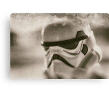 Lego storm trooper vintage Canvas Print