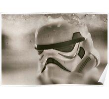 Lego storm trooper vintage Poster
