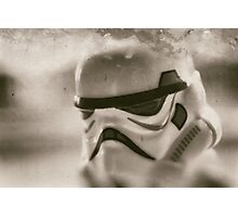 Lego storm trooper vintage Photographic Print