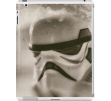 Lego storm trooper vintage iPad Case/Skin