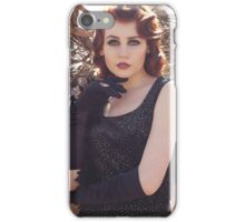 Gothic woman  iPhone Case/Skin