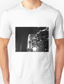 Black And White Cityscape 16  T-Shirt