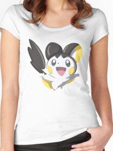 Pokemon - Emolga Women's Fitted Scoop T-Shirt
