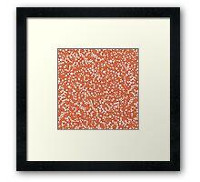 Background Spermatozoon Framed Print