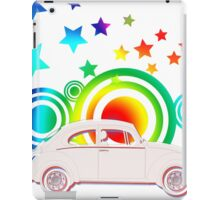 Retro VW Beetle iPad Case/Skin