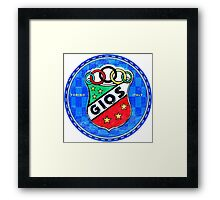 Gios Bicycles Framed Print