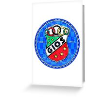 Gios Bicycles Greeting Card
