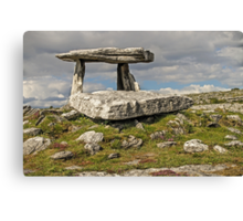 Neolithic Teleport Canvas Print