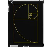 Golden Spiral Sacred Geometry iPad Case/Skin