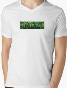 ALTERED MINDS BANNER Mens V-Neck T-Shirt