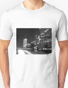 Black And White Cityscape 17  T-Shirt