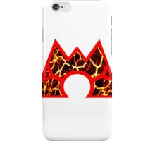 Team Magma Logo (Pokemon) iPhone Case/Skin