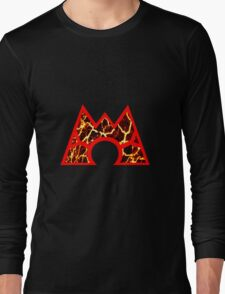 Team Magma Logo (Pokemon) Long Sleeve T-Shirt