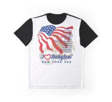 The I Love Babylon Patriot Tee Graphic T-Shirt