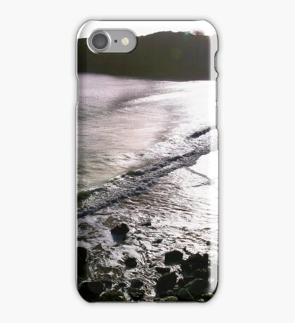Barafundle - Silver Light iPhone Case/Skin