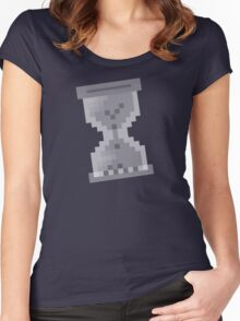 Loading Hourglass [Neo Retro]  Women's Fitted Scoop T-Shirt