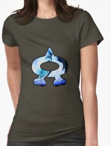 Team Aqua Logo (Pokemon) Womens Fitted T-Shirt