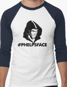 Phelps Face Men's Baseball ¾ T-Shirt