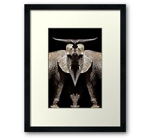 elephant god Framed Print