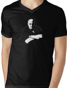 Soprano Mens V-Neck T-Shirt