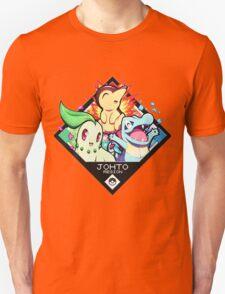 Johto Region - Pokemon Unisex T-Shirt