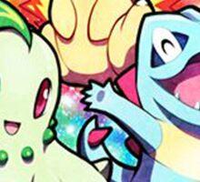 Johto Region - Pokemon Sticker