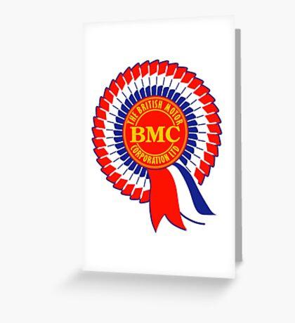 BMC British Motor Corporation Greeting Card