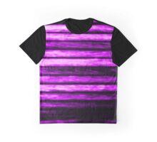 Purple Grunge Vertigo Design Graphic T-Shirt