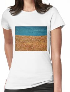 Reincarnations original painting Womens Fitted T-Shirt