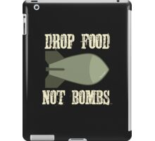 Drop Food Not Bombs Stop the War Protest iPad Case/Skin
