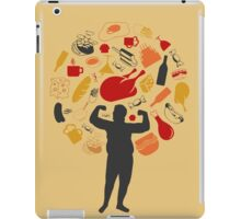 Fat man iPad Case/Skin
