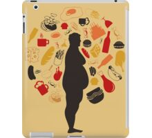 Fat man2 iPad Case/Skin