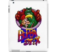Bubba n Stix - SEGA Genesis Title Screen iPad Case/Skin