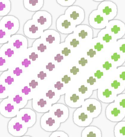 x square Sticker