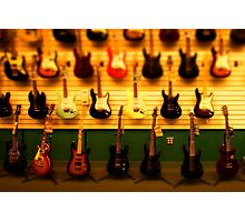tiny guitar collection Photographic Print