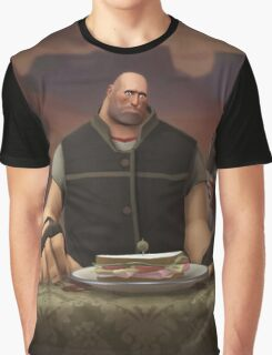 Team Fortress 2 The Last Sandvich Graphic T-Shirt