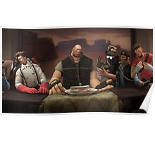 Team Fortress 2 The Last Sandvich Poster