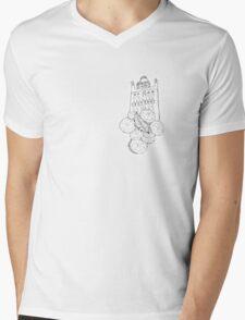 La Giralda Mens V-Neck T-Shirt