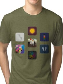 Now Apps What I Call Coldplay Tri-blend T-Shirt