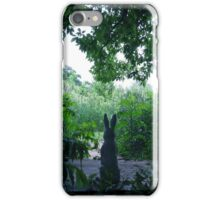 the Bunny Watcher . . . . iPhone Case/Skin