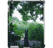 the Bunny Watcher . . . . iPad Case/Skin