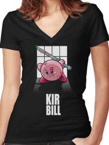 KIR BILL Women's Fitted V-Neck T-Shirt