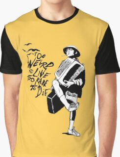 Weird and Rare - Fear Loathing Vegas Graphic T-Shirt