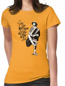 Weird and Rare - Fear Loathing Vegas Womens Fitted T-Shirt